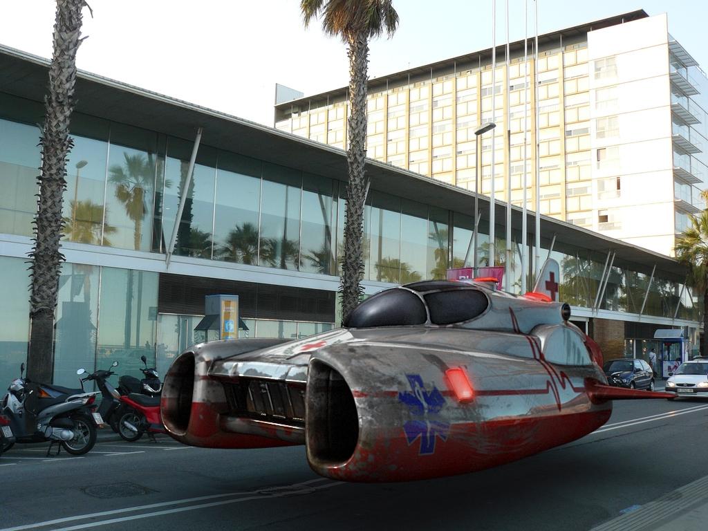 Futuristic Ambulance | Gallery